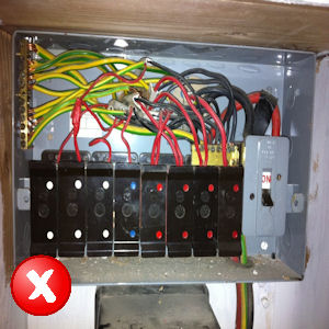 free electrical safety check ramstead electricians fuse box replacement at Fuse Box Safety